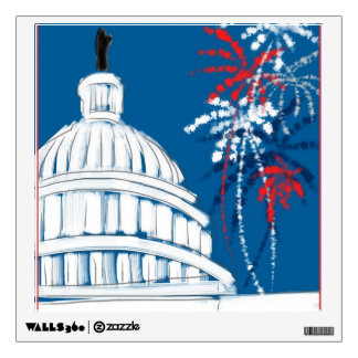 A Capitol Fourth Wall Sticker