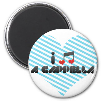 A Cappella 2 Inch Round Magnet