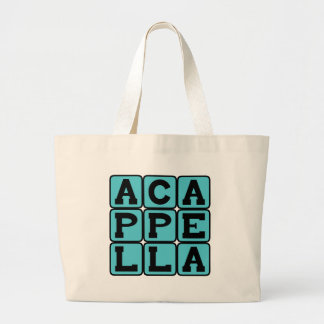 A Cappella, Singing Without Music Tote Bags