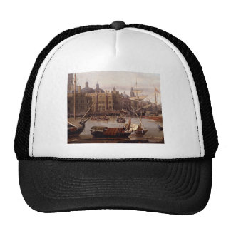 A Capriccio Of The Grand Canal Venice Detail Trucker Hat