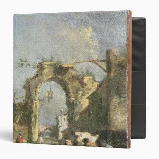 A Capriccio - Ruins, 18th century Vinyl Binders