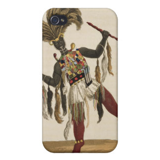 A Captain in his War Dress, from 'Mission from Cap iPhone 4 Cover