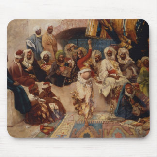 A Captive Audience, 1883 (oil on canvas) Mouse Pad