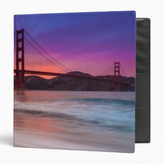 A capture of San Francisco's Golden Gate Bridge Binder