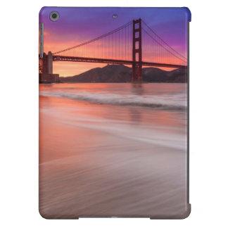 A capture of San Francisco's Golden Gate Bridge Case For iPad Air