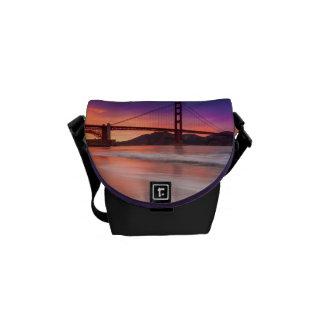 A capture of San Francisco's Golden Gate Bridge Courier Bag