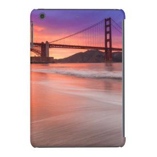 A capture of San Francisco's Golden Gate Bridge iPad Mini Retina Covers