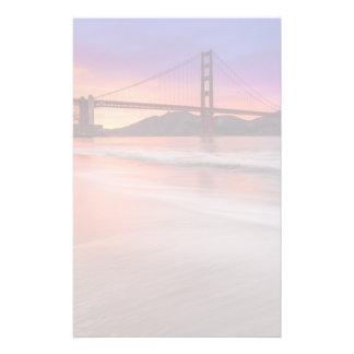A capture of San Francisco's Golden Gate Bridge Stationery