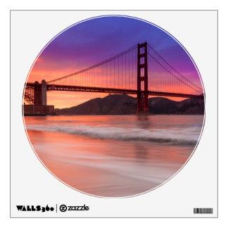 A capture of San Francisco's Golden Gate Bridge Room Graphics