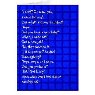 A Card for No Reason