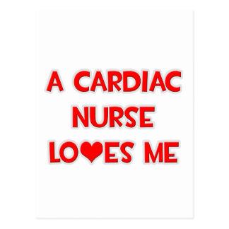 A Cardiac Nurse Loves Me Postcard