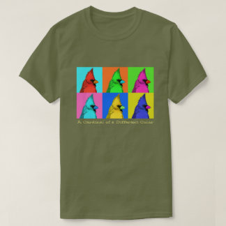 Custom t shirts design your own tees zazzle for Cardinal color t shirts