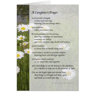 A Caregiver s Prayer - Greeting Card