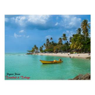 A Caribbean Paradise Postcard