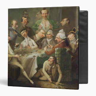 A Caricature Group, c.1776 (oil on canvas) 3 Ring Binder