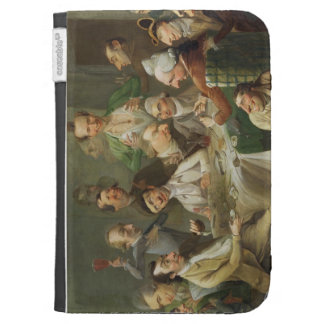A Caricature Group, c.1776 (oil on canvas) Case For Kindle