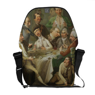A Caricature Group, c.1776 (oil on canvas) Courier Bag