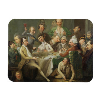 A Caricature Group, c.1776 (oil on canvas) Magnet
