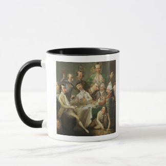 A Caricature Group, c.1776 (oil on canvas) Mug