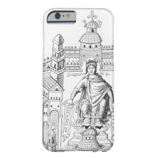 A Carlovingian king in his palace, personifying Wi Barely There iPhone 6 Case