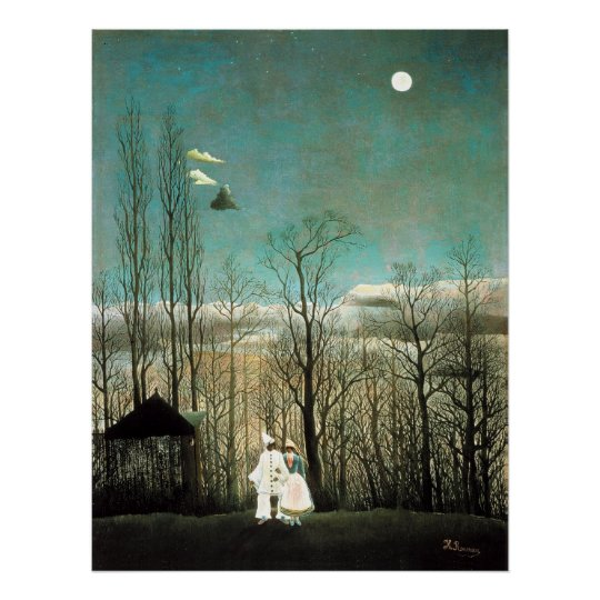 A Carnival Evening, Henri Rousseau Poster