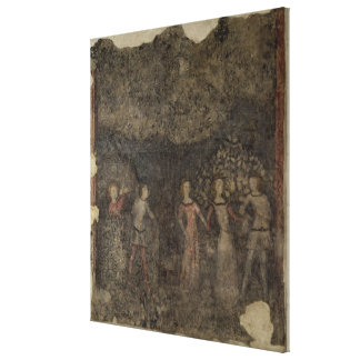 A Carole, c.1380-90 Gallery Wrapped Canvas