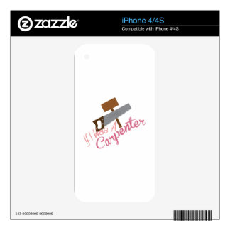 A Carpenter Decal For The iPhone 4S