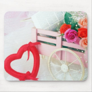 A Cart Full Of Love Mouse Pad