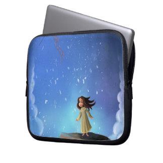 a cartoon dream land Laptop sleeve