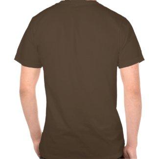 A cartoon giraffe T-shirt (back) shirt