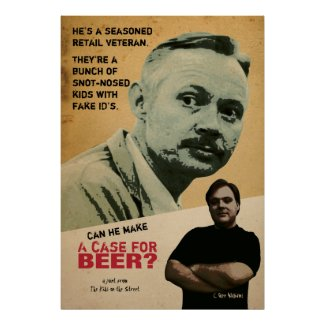 A Case For Beer print