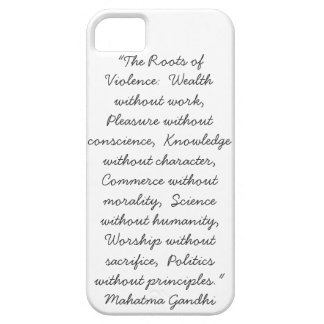 A Case for Wisdom iPhone 5 Cover