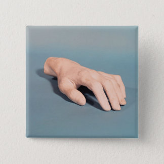 A cast of the hand of Frederic Chopin Button
