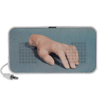 A cast of the hand of Frederic Chopin iPhone Speaker