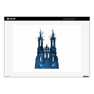 A castle laptop decals