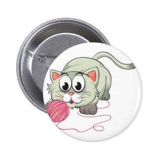 a cat 2 inch round button