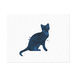 A cat! canvas print