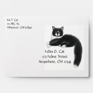 A Cat Named Felixx Envelope