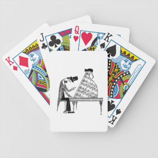A cat named Sonata Bicycle Playing Cards