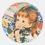 A Cat Owner's Prayer Sticker