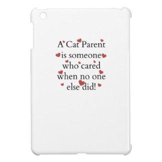 A Cat Parent Cared iPad Mini Covers
