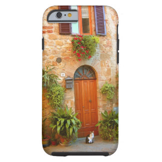 A cat seeks entrance to home in Pienza, Italy. Tough iPhone 6 Case