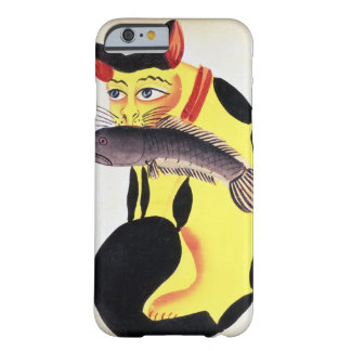 A cat with a fish in its mouth, from the Rudyard K Barely There iPhone 6 Case