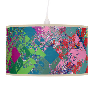 A Catch 52 Color Extravaganza Whirly Shuffle Ceiling Lamp