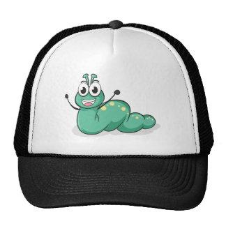 a caterpillar trucker hat