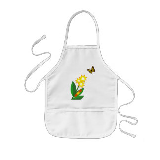 A Caterpillars Life Kids' Apron