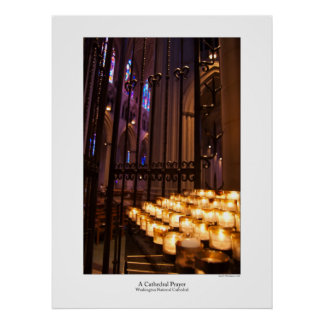 A Cathedral Prayer Poster