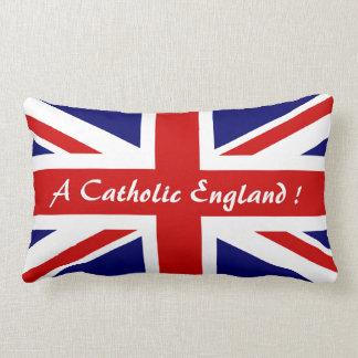 A CATHOLIC ENGLAND ! LUMBAR PILLOW