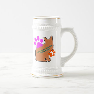 A Cats Higher Education Includes Naps Beer Stein