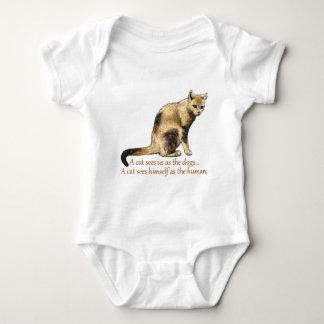 A Cat's Perceptions Baby Bodysuit